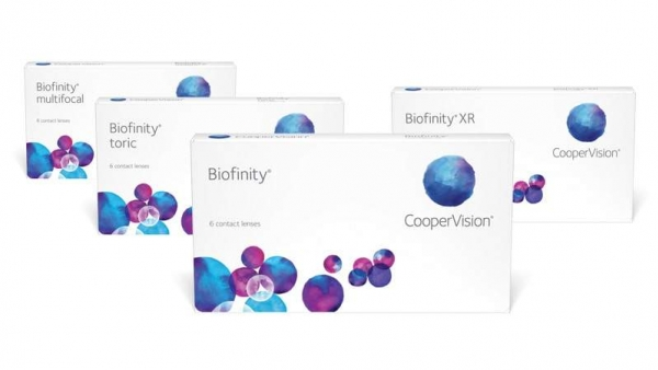 Biofinity advance contact lenses