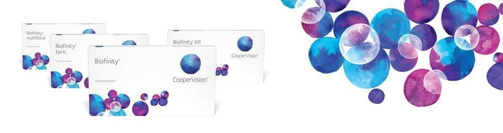 Biofinity Family Cooper Vision